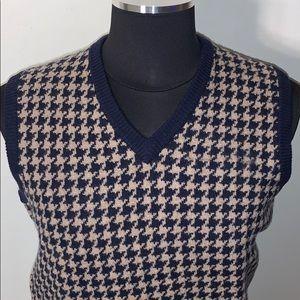🤩 Brooks Brothers Red Fleece Sweater Vest